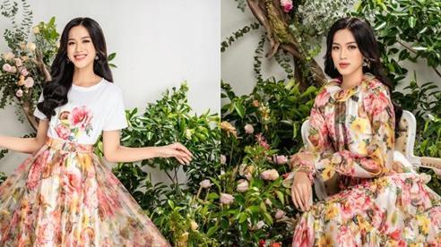 Hoa hậu Đỗ Thị Hà đẹp 'lịm người' nàng thơ mùa xuân gợi cảm là có thật