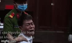 Lĩnh 17 tháng tù, cựu Phó chánh án Nguyễn Hải Nam liên tục khóc gọi bố