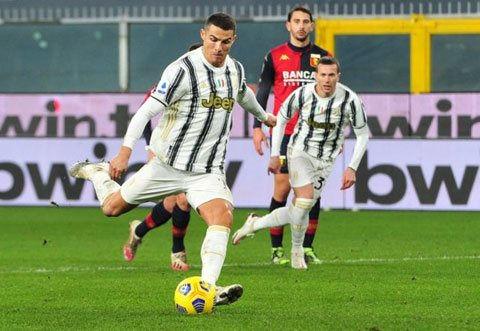 Ronaldo không phải tiền đạo dứt điểm tốt nhất Serie A năm 2020