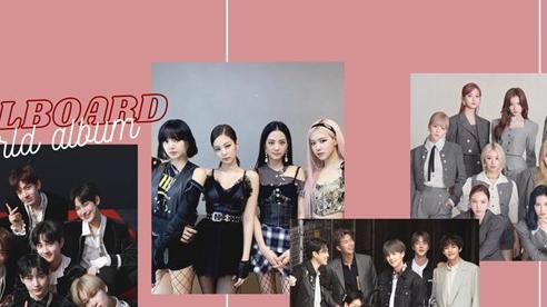 Kpop 'cực căng' trên BXH World Album: BlackPink lại mất No.2, Twice chao đảo, tân binh ENHYPEN tham trận