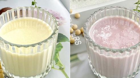 Mùa đông muốn da đẹp căng bóng thì hãy bỏ túi ngay 2 công thức làm sữa đậu nành đơn giản này nhé chị em