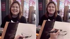 Nhờ bạn vẽ ảnh chân dung, cô gái nhận về kết quả muốn 'trào nước mắt'