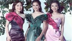 Top 3 Hoa hậu Việt Nam 2018: Tiểu Vy phủ sóng showbiz, Phương Nga - Thúy An ngày càng xinh đẹp