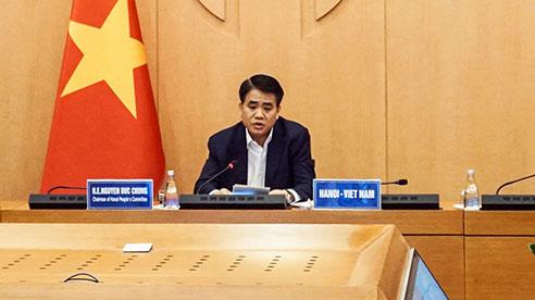 Chủ tịch Hà Nội chia sẻ kinh nghiệm phòng chống Covid -19 với thị trưởng các thành phố lớn trên thế giới