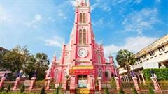 Nhà thờ màu hồng ở Sài Gòn lọt top 10 điểm đến màu hồng đẹp nhất thế giới