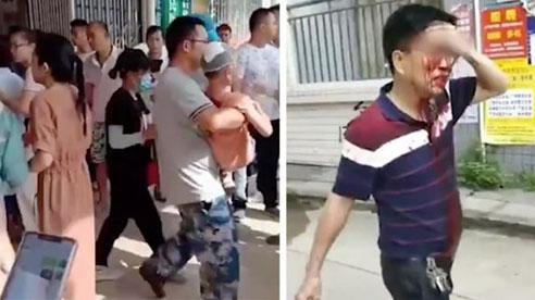 Tấn công bằng dao vào trường tiểu học ở TQ, gần 40 bé lớp 1 bị thương