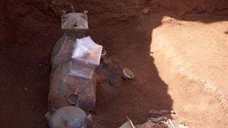 Phát hiện 'thuốc trường sinh' đựng trong bình đồng 2.000 năm tuổi