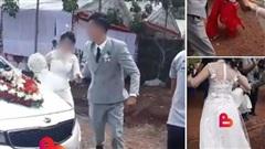 Người trong cuộc lên tiếng vụ cô dâu chửa trước bị mẹ chồng bắt đi cửa sau: Sự thật hoàn toàn không giống MXH chia sẻ