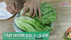 Mẹo bảo quản xà lách, bắp cải lâu ngày vẫn như mới hái