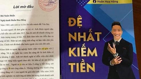 Huấn 'hoa hồng' bị xử phạt 17,5 triệu vì xuất bản sách 'Đệ nhất kiếm tiền'