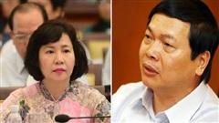 Bộ Công an thông tin chính thức việc khởi tố cựu Bộ trưởng Vũ Huy Hoàng và cựu Thứ trưởng Hồ Thị Kim Thoa