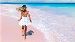 Bí ẩn biển nước hồng rực như cổ tích ở Colombia