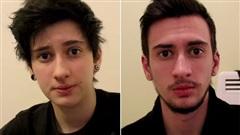 Clip  Quá trình 3 năm chuyển giới từ nữ sang nam trong 15 giây