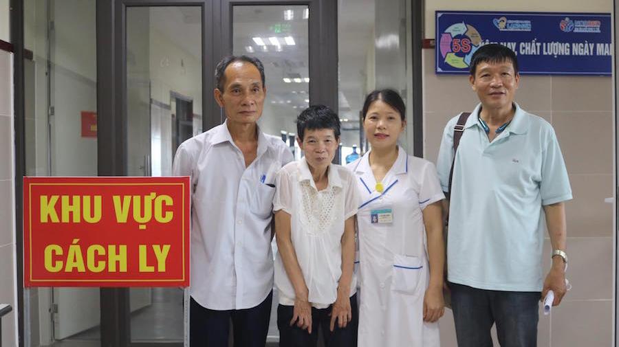 Một người phụ nữ ở Hà Nội thất lạc gia đình 24 năm được tìm thấy ở khu cách ly Covid-19