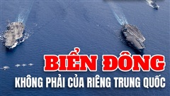 Biển Đông không phải của riêng Trung Quốc