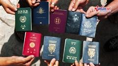 Vì sao hộ chiếu các quốc gia trên thế giới chỉ mang 4 màu sắc?