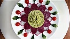 Cách trang trí hoa quả cực đẹp, cực dễ