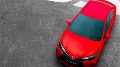 Lộ diện Toyota Vios phiên bản nâng cấp 2021