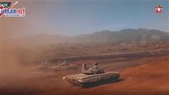 Xem xe tăng Lào khai hỏa trong lần đầu tiên tập trận chung với Nga