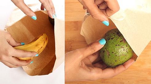 Mẹo làm chín trái cây chỉ sau một đêm