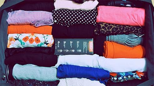 Cách gấp quần áo thông minh