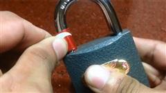 Cách mở khóa đơn giản khi bị mất chìa