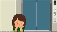 An toàn cho trẻ khi đi thang máy