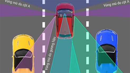 Điểm mù khi lái xe và cách khắc phục