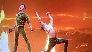 Màn trình diễn của Quốc Cơ - Quốc Nghiệp ở Chung kết Britain's Got Talent