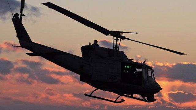 Trực thăng quân sự Mỹ bất ngờ trúng đạn