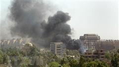 Quân đội Iraq: Rocket đánh trúng vùng Xanh ở thủ đô Baghdad