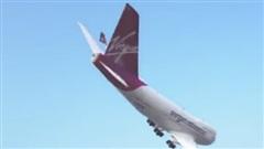 Cú xoay người kinh hồn của máy bay chở khách