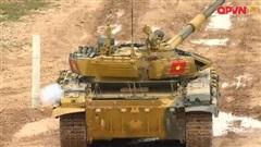 HIGHLIGHTS: Trận ra quân của Đội tuyển xe tăng Việt Nam tại Hội thao Quân sự Thế giới - Army Games 2020