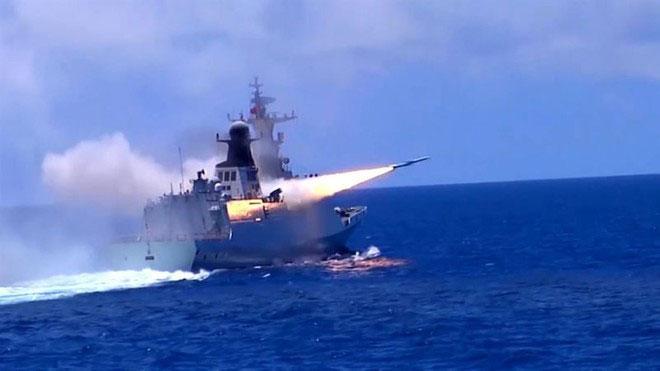 Trung Quốc ngang nhiên thông báo hôm nay bắt đầu tập trận lớn ở Hoàng Sa
