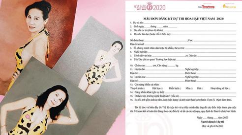 Tranh cãi chuyện thí sinh U60 đăng ký thi Hoa hậu Việt nam 2020