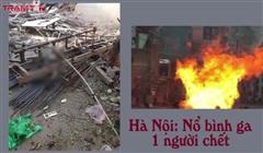 Hà Nội: Nổ bình ga tại xưởng cơ khí, 1 người tử vong, một người bị thương nặng