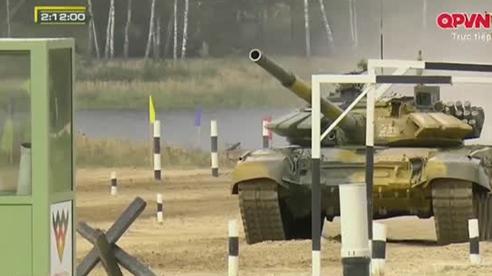 Khoảnh khắc xúc động của chiến sĩ xe tăng khi giành HCV Tank Biathlon 2020