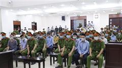 Hình ảnh phiên tòa xét xử sơ thẩm vụ án tại xã Đồng Tâm