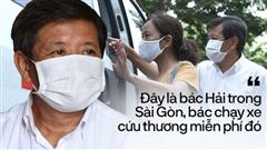 Một ngày theo xe cứu thương miễn phí của ông Đoàn Ngọc Hải: 'Tôi chẳng có gì hạnh phúc đâu, bệnh nhân chịu bao đau đớn thì mình hạnh phúc làm sao được'