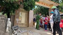 Lại sập tường trước cổng trường, một học sinh lớp 5 tử vong