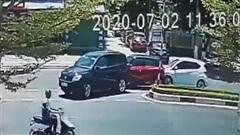 Gây tai nạn liên hoàn, tài xế có pha xử lý ranh mãnh khiến tất cả bất ngờ