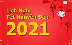 Đề xuất 2 phương án nghỉ Tết Nguyên đán Tân Sửu 2021