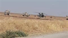 NÓNG: Trực thăng quân sự Mỹ rơi ở Syria