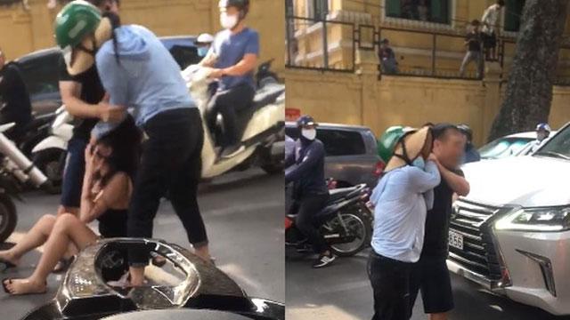 Người vợ trong vụ đánh ghen trên phố Lý Nam Đế lên tiếng về nguồn gốc chiếc xe hơn 8 tỷ và cho biết: 'Chồng tôi đêm qua không về nhà'