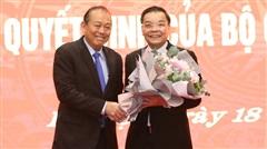 Bộ trưởng KH-CN Chu Ngọc Anh làm Phó Bí thư Thành uỷ Hà Nội