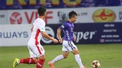 Hà Nội 0-0 Viettel: Hoàng Đức suýt ghi siêu phẩm (H1)