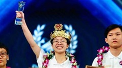 Đạt 235 điểm, cô gái duy nhất trong chương trình giành vòng nguyệt quế Đường lên đỉnh Olympia, trước đó đã nói 1 câu cực 'chất'
