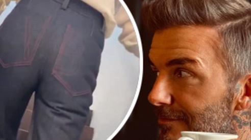 David Beckham quay trộm rồi tấm tắc khen vòng 3 của bà xã, dân tình kêu gào: Ông chồng trong truyền thuyết là đây!