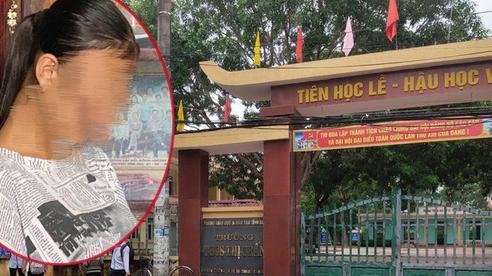 Vụ nữ sinh lớp 9 nghi bị bạn cưỡng bức có thai ở Thanh Hóa: Hiệu trưởng thừa nhận sự việc 'là bài học sâu sắc'