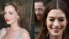 Kim Tae Hee tuổi 40 lão hóa có gì lạ, 'nữ thần sắc đẹp đương đại Hollywood' Anne Hathaway tuổi 38 còn già nua thế này cơ mà
